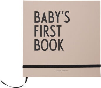 Design Letters Baby's First Book, Nude