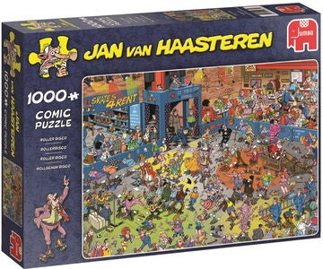 Jumbo Puslespill Jan van Haasteren The Roller Disco 1000