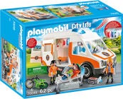 Playmobil 70049 Ambulanse Med Blinkende Lys