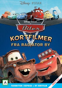 Disney Pixar Kortfilmer Fra Radiator By DVD