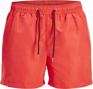 Jack & Jones Sunset Badeshorts, Hot Coral