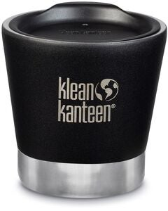 Klean Kanteen Insulated Tumbler Termoskopp med Lokk  237ml, Shale Black