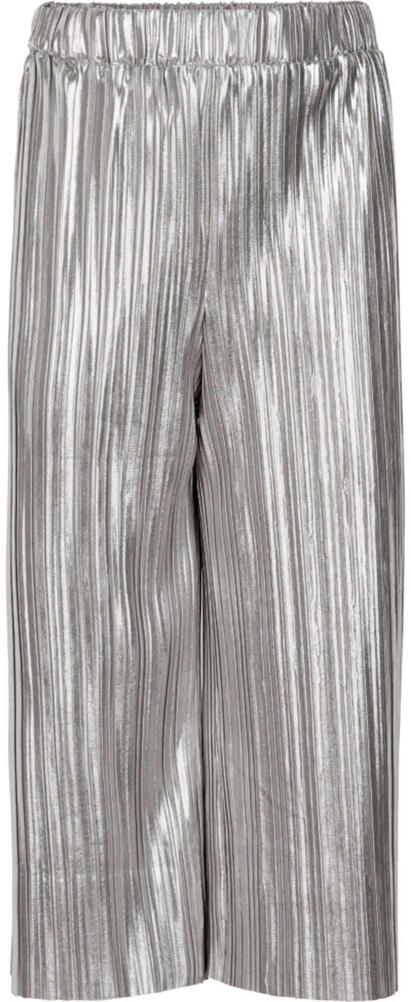 Kjøp Creamie Metallic Plissé Bluse, Silver   Jollyroom