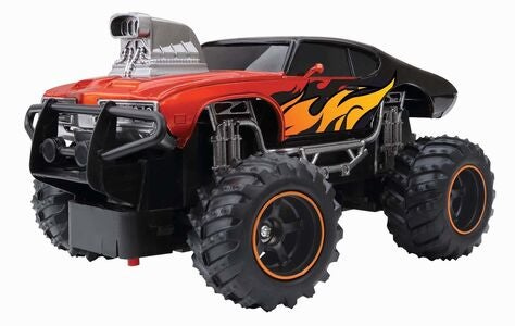 New Bright Radiostyrt Bil 1:24 Mega Muscle