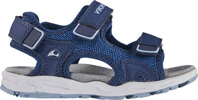 Viking Anchor Sandal, Light Blue/Navy