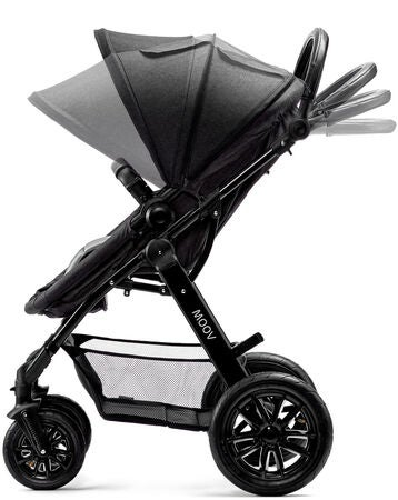 Kinderkraft Multipurpose 3-i-1 Moov Travelsystem, Black