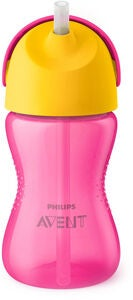 Philips Avent Sugerørkopp 300ml, Rosa