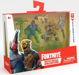 Fortnite Battle Royale W2 Figurer Battlehound & Flytrap Duo Pack S1