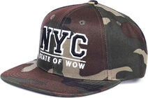 State Of Wow Toronto Youth Snapback Caps, Camo