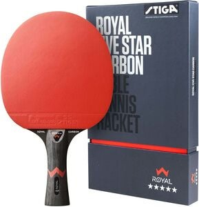 Stiga Bordtennisracket ROYAL 5-star CARBON