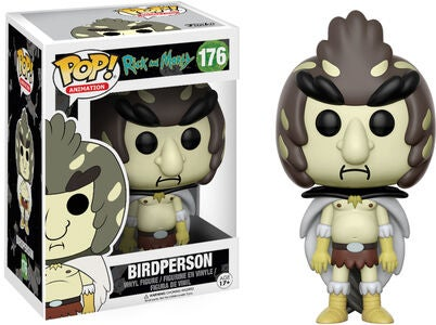 POP! Rick And Morty Samlefigur Bird Person