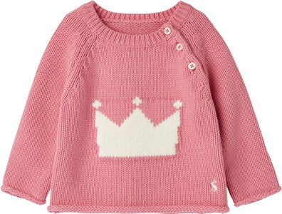 Tom Joule Beau Strikket Genser, Pink Crown