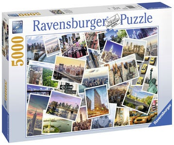 Ravensburger Puslespill New York City 5000 Biter