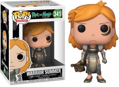 POP! Rick And Morty Samlefigur Warrior Summer