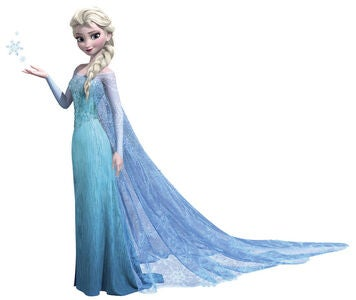 RoomMates Wallstickers Disney Frozen Elsa Giant