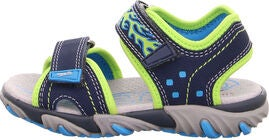 Superfit Mike2 Sandal, Blue/Green