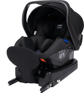 Axkid Modukid Infant Babybilstol, Black Inkl. Base