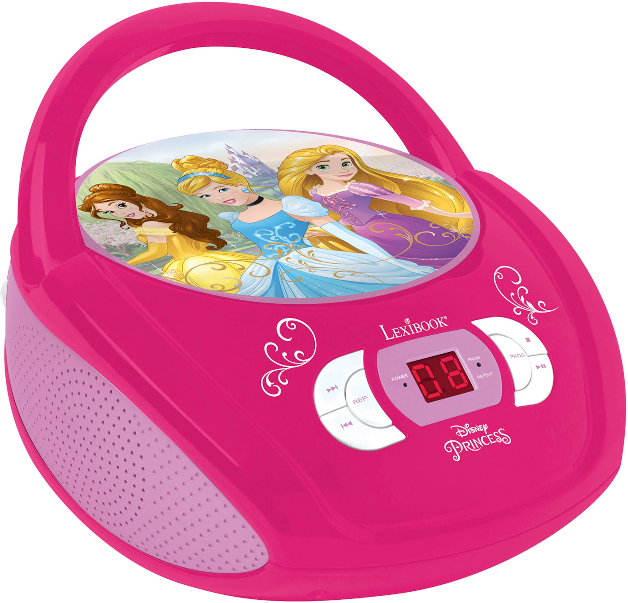Disney Princess Radio og CD-spiller