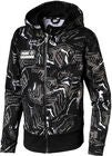 Puma Alpha Aop Sweat Jakke, Black