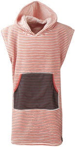 Didriksons Pier Poncho, Tile Orange Simple Stripe