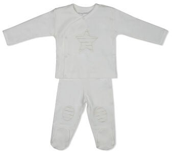 Tiny Treasure Babysett, Off White