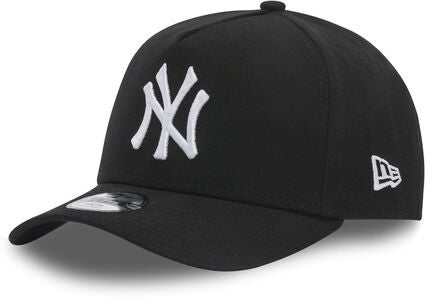 New Era MLB Essential A-frame Kids Kaps, Black/White