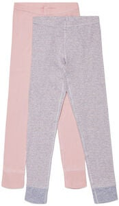 Luca & Lola Toto Stillongs 2-pack, Pink/Stripes