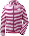 Didriksons Monte Fleecejakke, Plastic Pink Simple Stripe