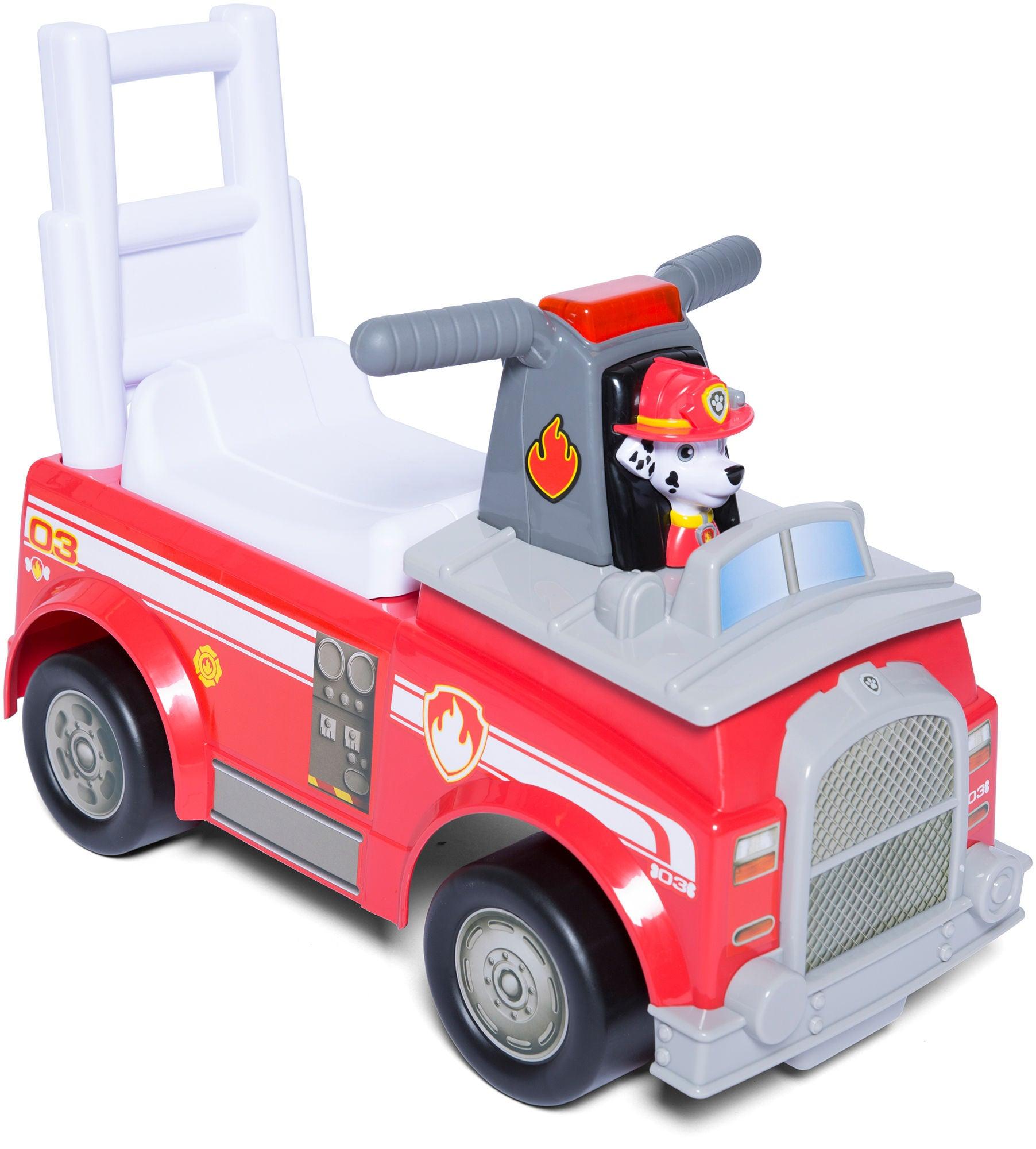 Paw Patrol Marshall Fire Fighting Truck Gåbil, Rød