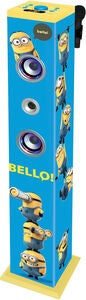 Minions Bluetooth Sound Tower med Mikrofon