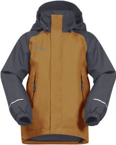 Bergans Storm Insulated Jakke, Desert/Solid Grey
