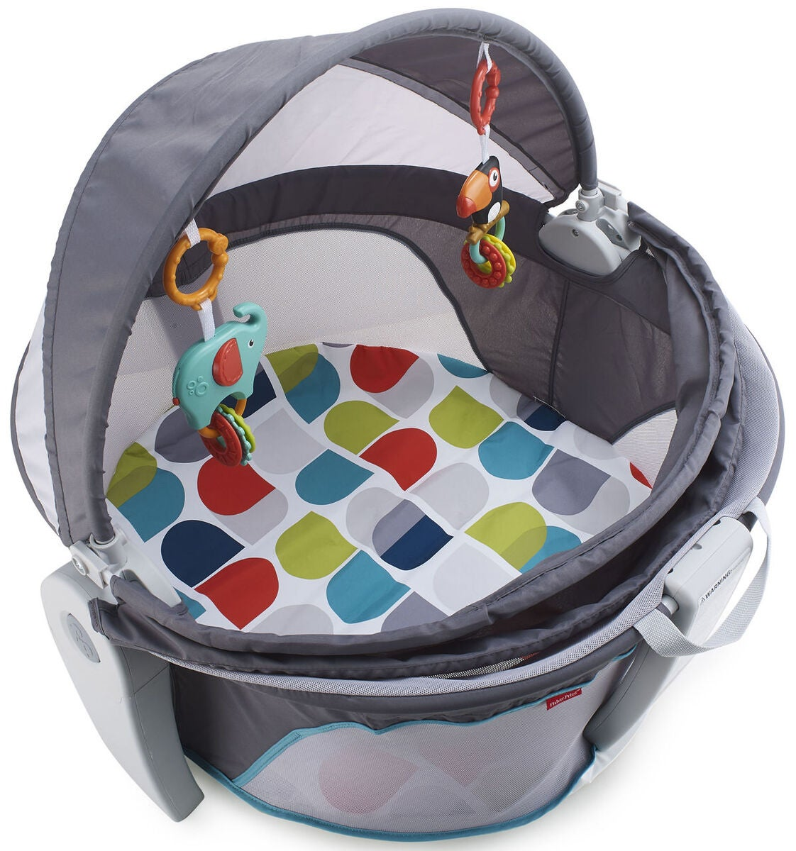 Fisher-Price On-the-Go Baby Dome Babygym