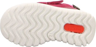 Superfit Sport7 Mini Sneaker, Red/Pink