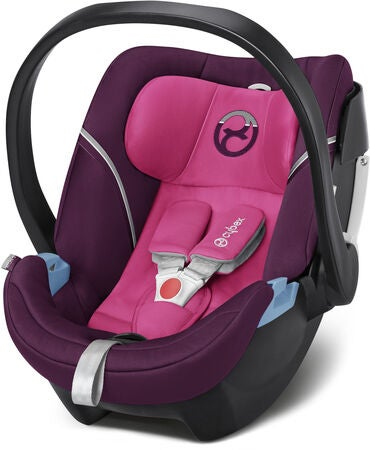 kj p cybex aton 5 babybilstol mystic pink jollyroom. Black Bedroom Furniture Sets. Home Design Ideas