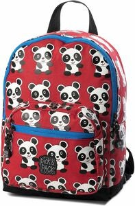 Pick & Pack Ryggsekk Panda, Red