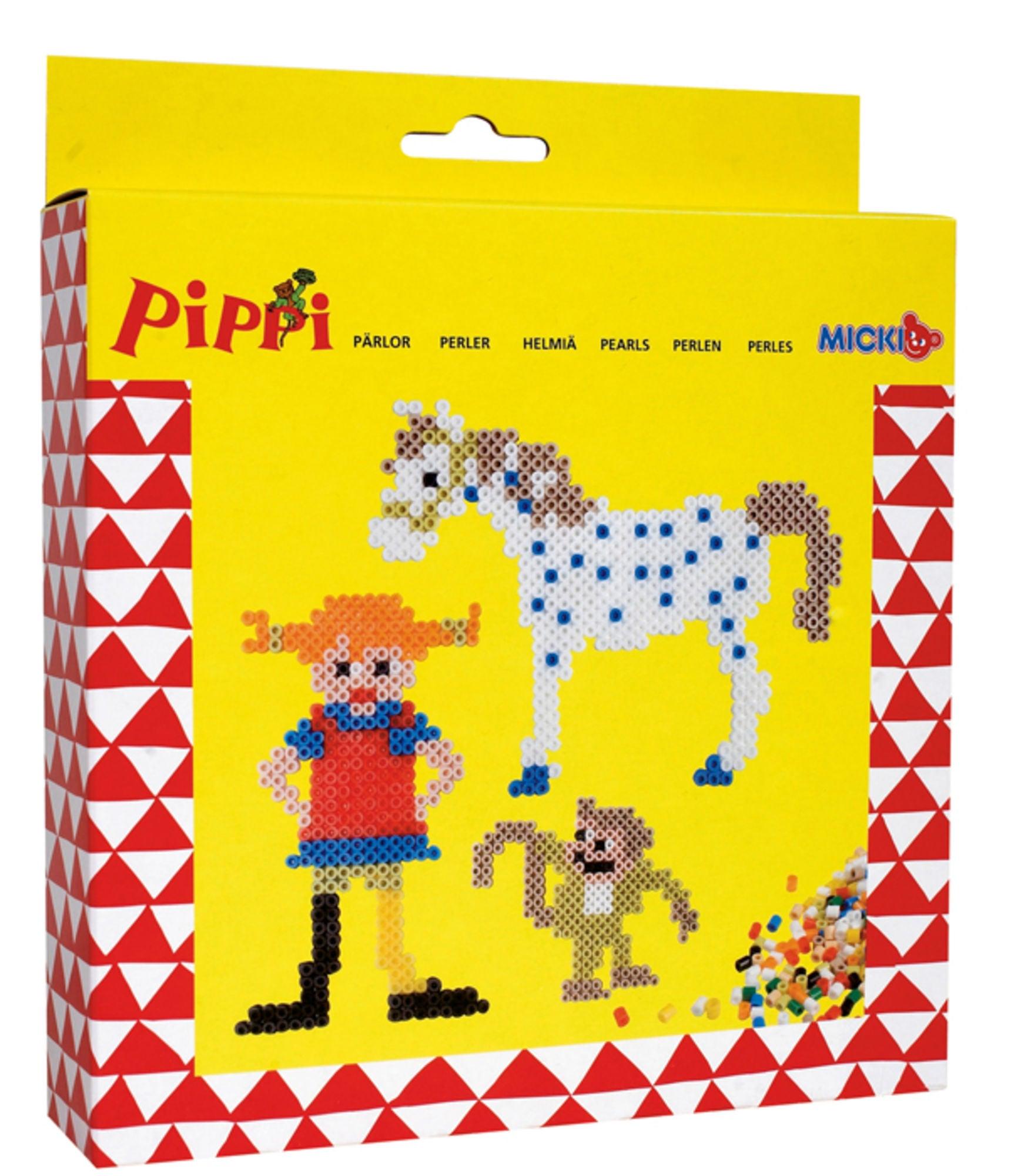 Pippi Langstrømpe Perlesett