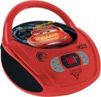 Disney Cars Radio og CD-spiller
