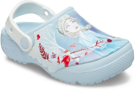 Crocs Disney Frozen 2 Fun Lab Clog, Mineral Blue