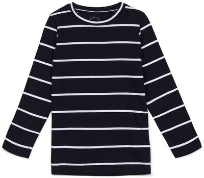 Luca & Lola Nario Genser 2-pack, Black Stripes