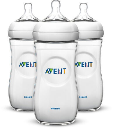 Philips Avent Tåteflaske Natural 330 ml 3-pack