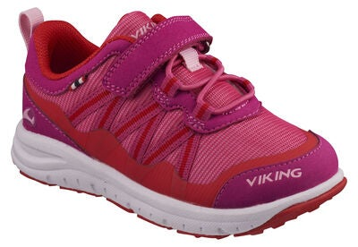 Viking Holmen Sneaker, Magenta/Red