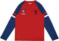 U.S. Polo Assn. USA T-Shirt, Deep Red
