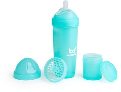 Herobility Baby Bottle Tåteflaske 340 ml, Blå