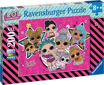 Ravensburger Puslespill L.O.L. Surprise! Girl Power 200 Brikker