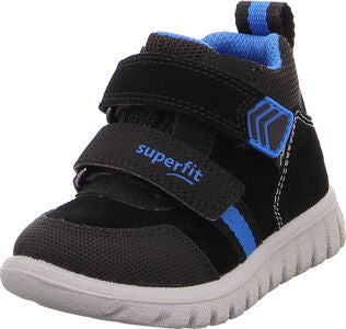 Superfit Sport7 GTX Sneaker, Black/Blue