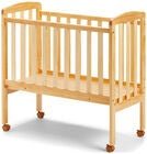 JLY Dream Bedside Crib, Natur