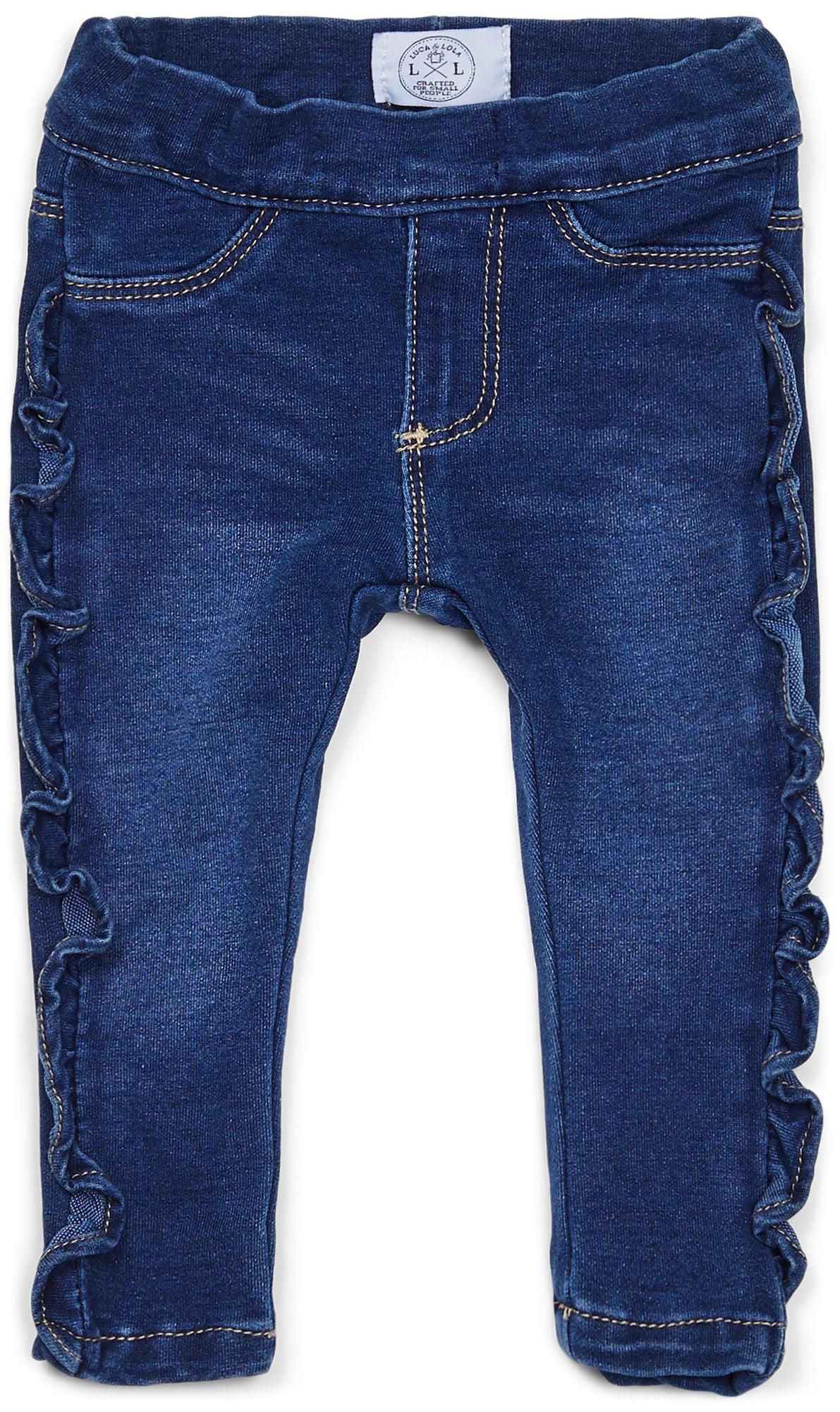 Kjøp Luca & Lola Fontana Bukse Baby, Blue | Jollyroom