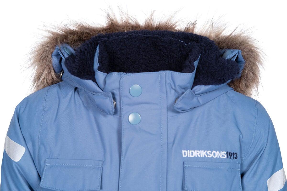 44f5b9fd Kjøp Didriksons Nokosi Parka Jakke, Coldsmoke Blue | Jollyroom