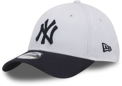 New Era MLB 9Forty Kids Kaps, White/Navy