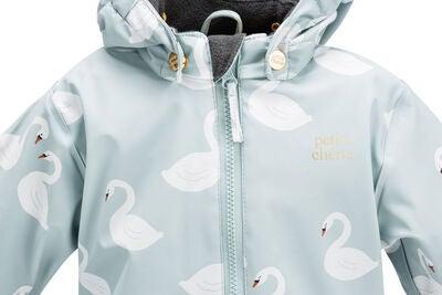78a1b306 Kjøp Petite Chérie Atelier Belle Foret Regndress, Cloud Blue Swan ...